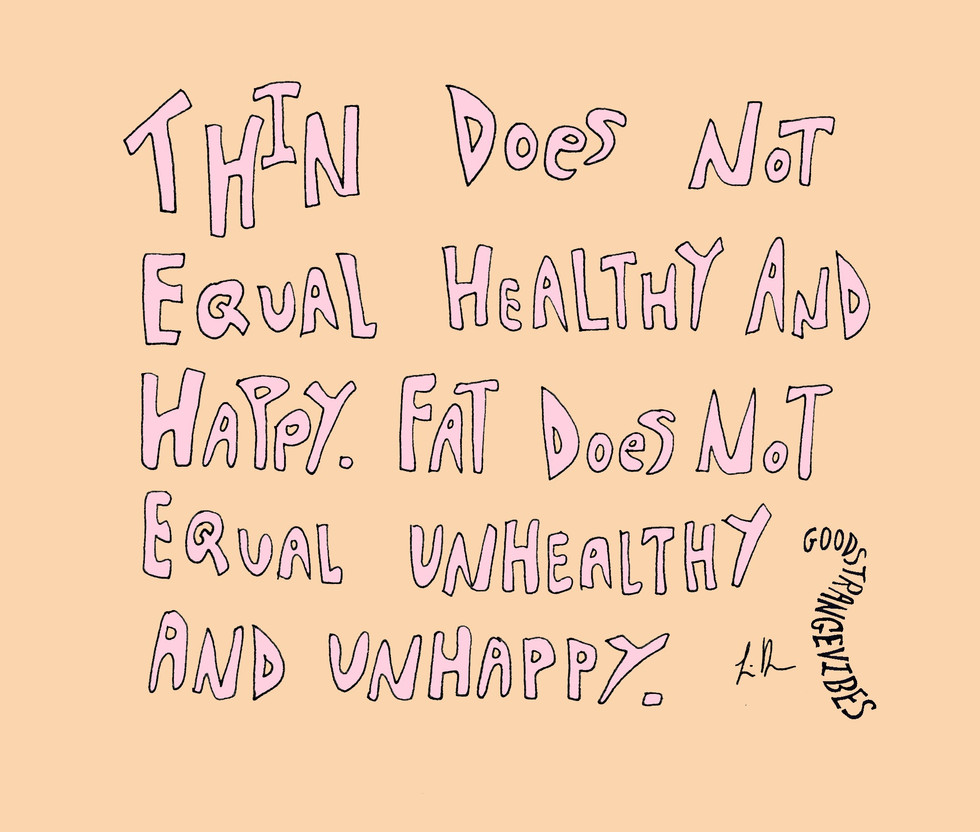 Thin does not equal healthy and happy.jp