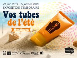 """""""Vos tubes de l'été"""" Exhibition - June 2019-March 2020"""