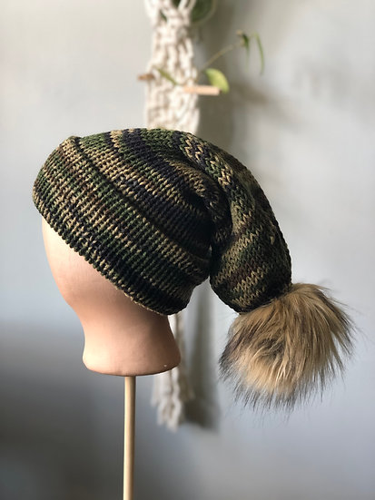 Camouflage Knit Hat