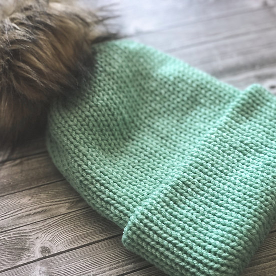 Double Brim Knit Beanies