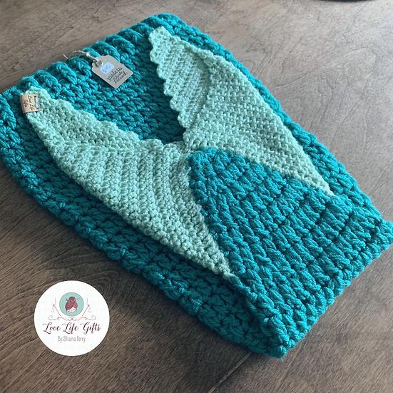 Toddler Mermaid Tail Blanket