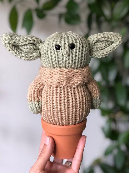 Baby Alien Knit Doll
