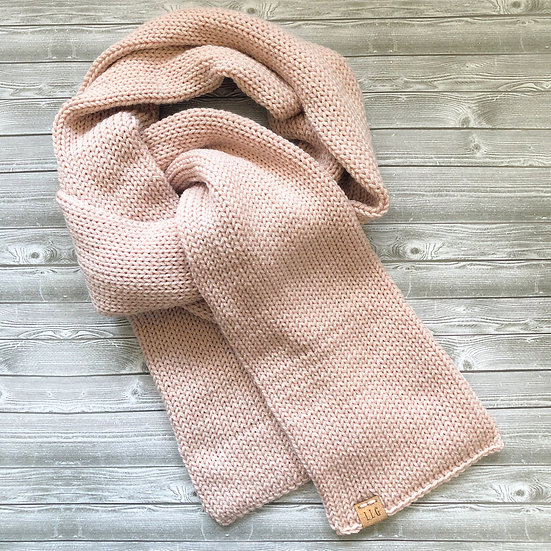 Classic Double Knit Scarf