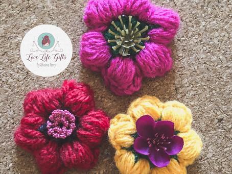 Diy Flower Magnets