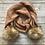 Thumbnail: Fur Pom pom Knit scarf