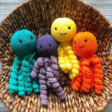 knit jelly fish