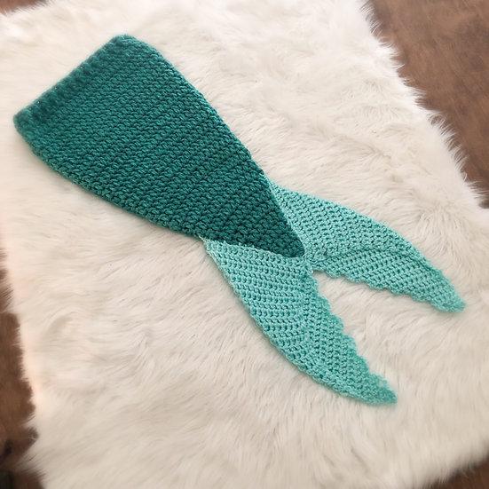 Baby Mermaid Tail Photo Prop