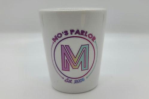 Mo's Parlor Shot Glass