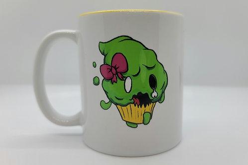 Zombie Cupcake Mug Style 2