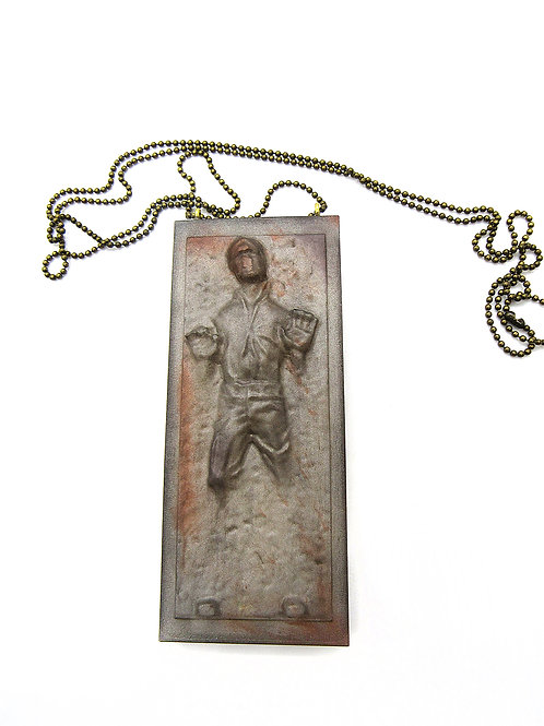 LARGE HAN SOLO NECKLACE