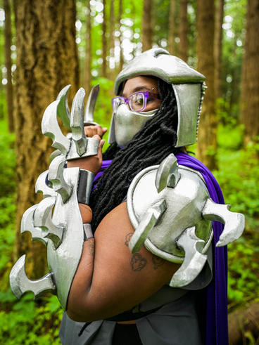 Shredder Cosplay