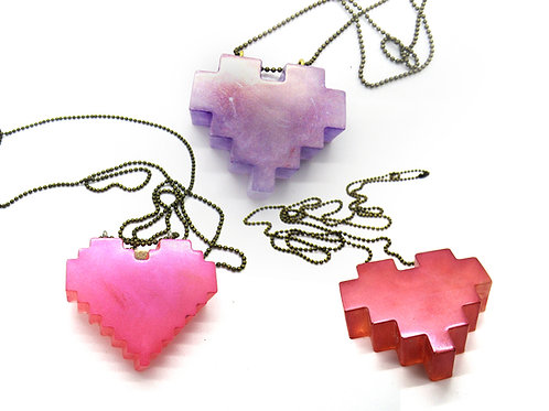 SOLID HEARTS NECKLACE