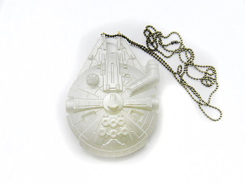 LARGE MILLENIUM FALCON NECKLACE