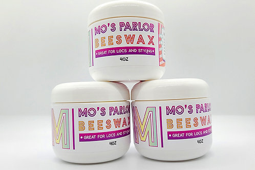 Mo's Parlor Beeswax 4oz
