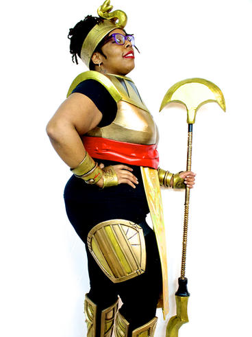 Warrior Cleo Cosplay