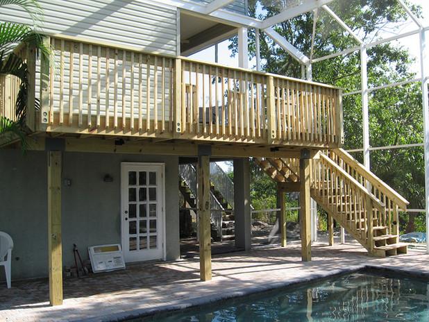 New Deck Railing - Venice, FL