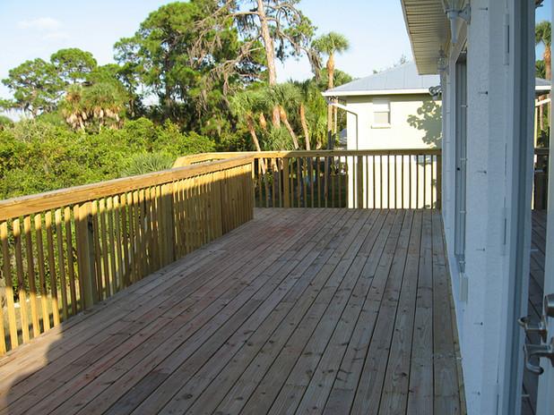 New Outdoor Deck - Venice, FL