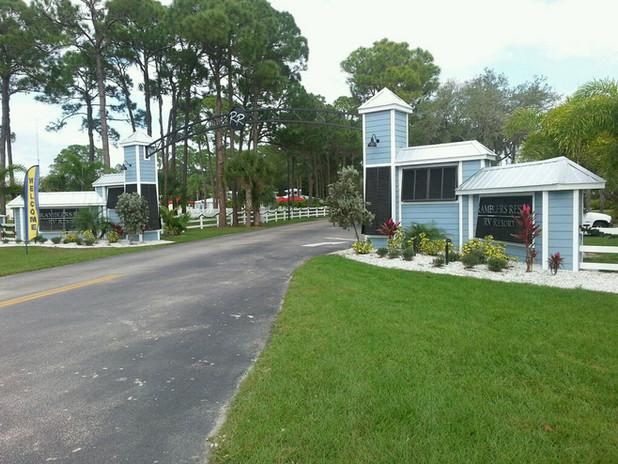 Ramblers Resort New Entrance
