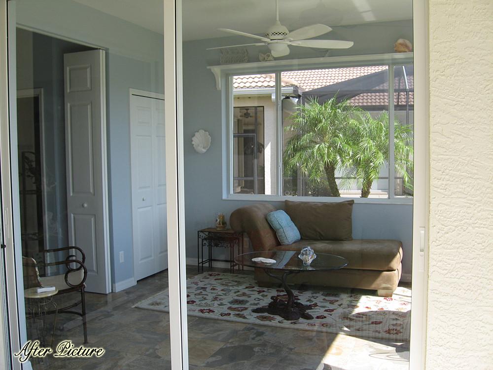 New Enclosed Indoor/Outdoor Space