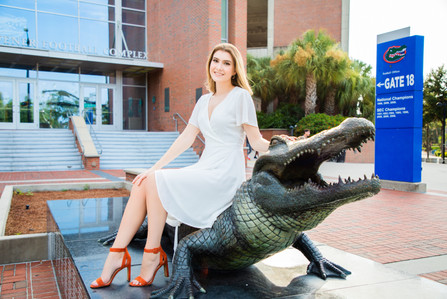 Sitting on Gator