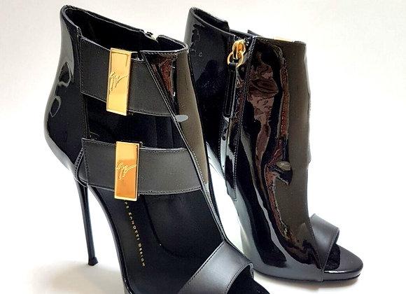 scarpa con tacco-nera-donna-zanotti-outlet-tenteva
