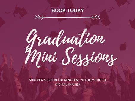 Graduation Mini Sessions