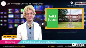 Les Nouvelles-Orléans: 15 février 2021