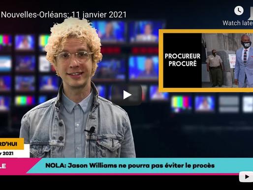 Les Nouvelles-Orléans: 11 janvier 2021