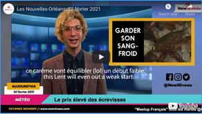 Les Nouvelles-Orléans: 22 février 2021