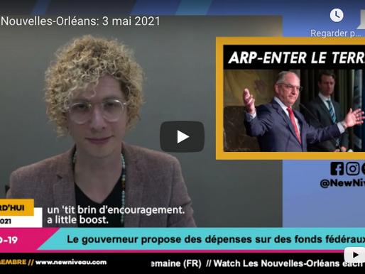 Les Nouvelles-Orléans: 3 mai 2021