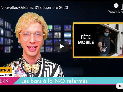 Les Nouvelles-Orléans: 31 décembre 2020