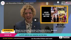 Les Nouvelles-Orléans: 12 avril 2021