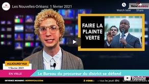 Les Nouvelles-Orléans: 1 février 2021