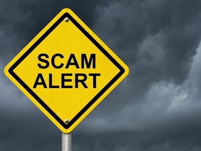 Register of Deeds warns of scam letter