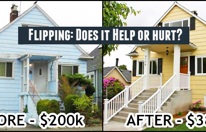 Do you know what's home-flipping?