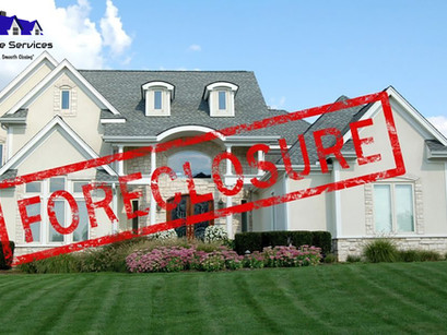PROS AND CONS OF BUYING A FORECLOSURE PROPERTY.