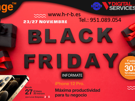 BLACK FRIDAY y el nuevo iPhone 12 Pro.