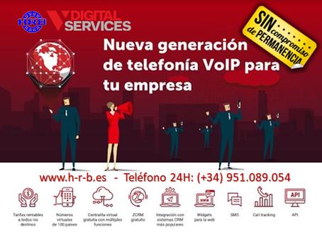 Número Fijo de cualquier Provincia de de España por solo 0.90 €/mes.