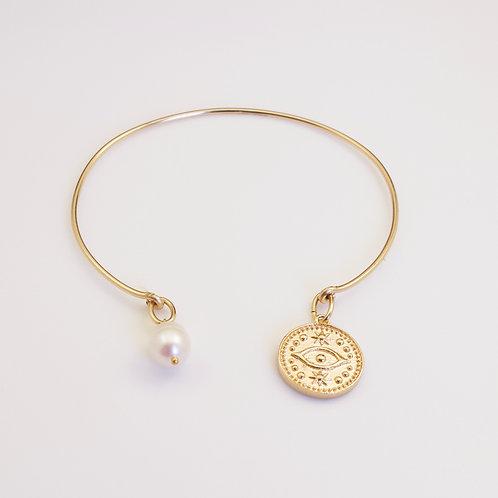 Jonc Médaille et perle