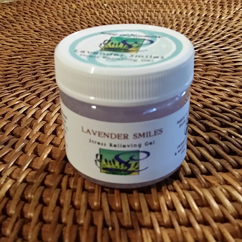 Lavender Smiles Stress Relieving Gel