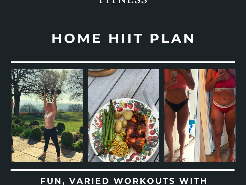 HOME HIIT PLAN