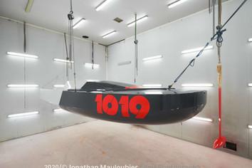 Mini 1019, scow par David Raison