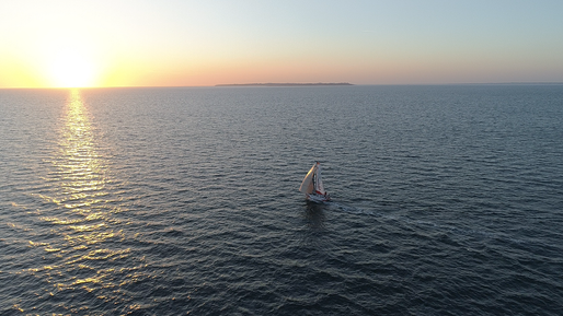 Sunset au large de Groix