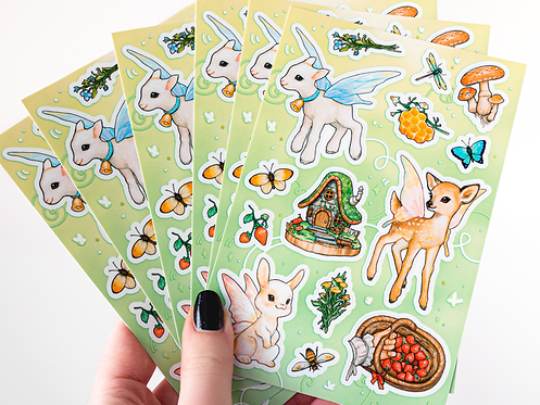 Forest Friends Sticker Sheet
