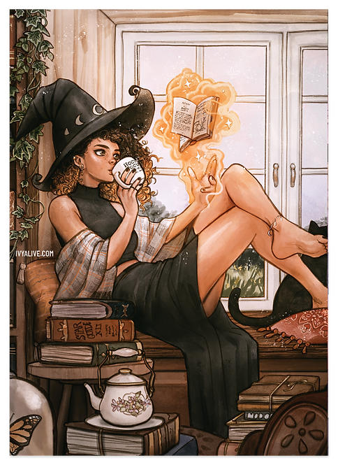 SEPT PATREON: Warm Witch