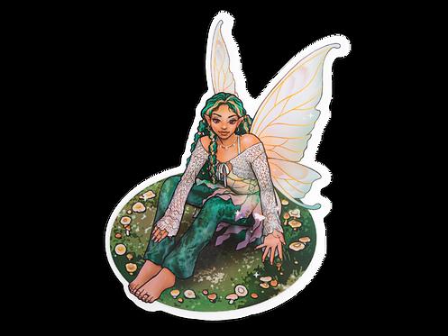 Fairy Queen Vinyl Sticker