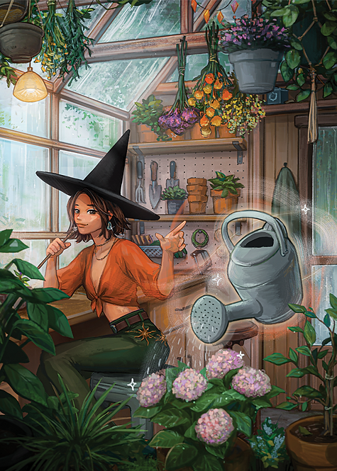 The Witch's Greenhouse