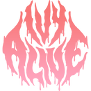 ivyalive logo transparent gradient pink.