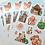 Thumbnail: Japan Snacks & Cats Sticker Sheet