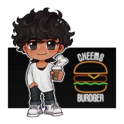 Andy Casual Chibi Single Together Insta.